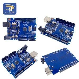 Image 5 - UNO R3 CH340Cบอร์ดพัฒนากรณีATmega328Pชิป16Mhz CH340 CH340GสำหรับArduino DIYชุดสายUSB