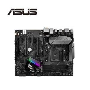 For ASUS ROG STRIX B350-F GAMING Motherboard Socket AM4 DDR4 For AMD B350M B350 Original Desktop Mainboard Used Mainboard