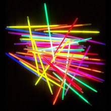 100Pcs/Set Glow Sticks Colorful Funny Portable Glow Sticks For Halloween Christmas Party Birthday Supplies Part Festival Party 20pcs christmas party supplies colorful glow sticks