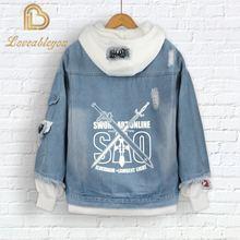 Куртка с капюшоном для косплея АМИА и ark Повседневная джинсовая