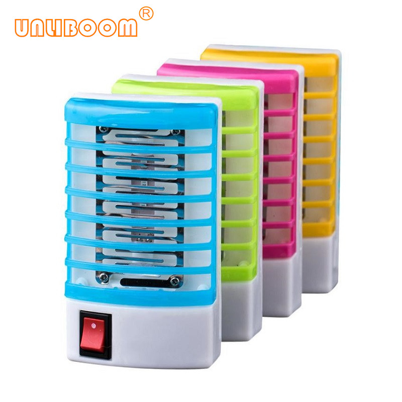 New LED Socket Electric Mini Mosquito Killer Lamps LED Fly Bug Insect Trap Killer Zapper Mosquito Repeller Night Lamp EU US Plug