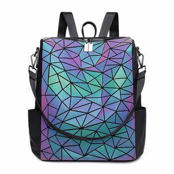 Luminous Backpack for women high capacity Backpacks for Teenage boy Girls brand Designer Shoulder Bag ladies travel bag mochila - Category 🛒 Luggage & Bags