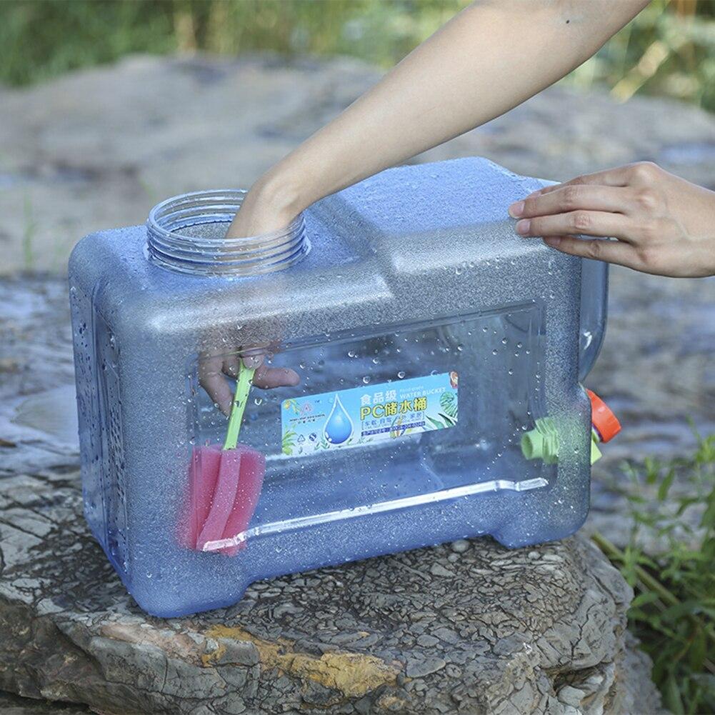 recipiente de tanque portátil com torneira para