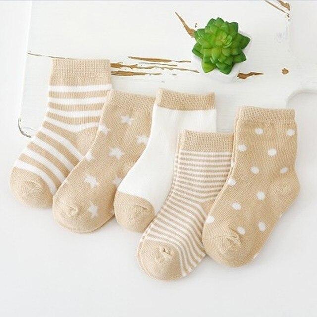 Durable Striped Socks 5