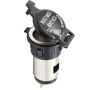 12V wodoodporny samochód Auto zapalniczka samochodowa gniazdo zasilania dla motocykli łodzie kosiarki ciągniki samochody tanie i dobre opinie Car Auto Motorcycle Cigarette Lighter Power Plug Socket