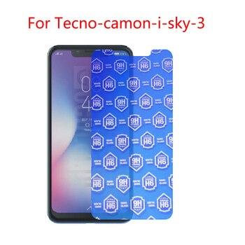 Перейти на Алиэкспресс и купить (3-Pack) 9H Гибкая стеклянная Защитная пленка для tecno-camon-i-sky3, n5, n9, p3, 3 s, 5,5 plus, p6 a mini, phantom 5,6, 6 plus, 8,9