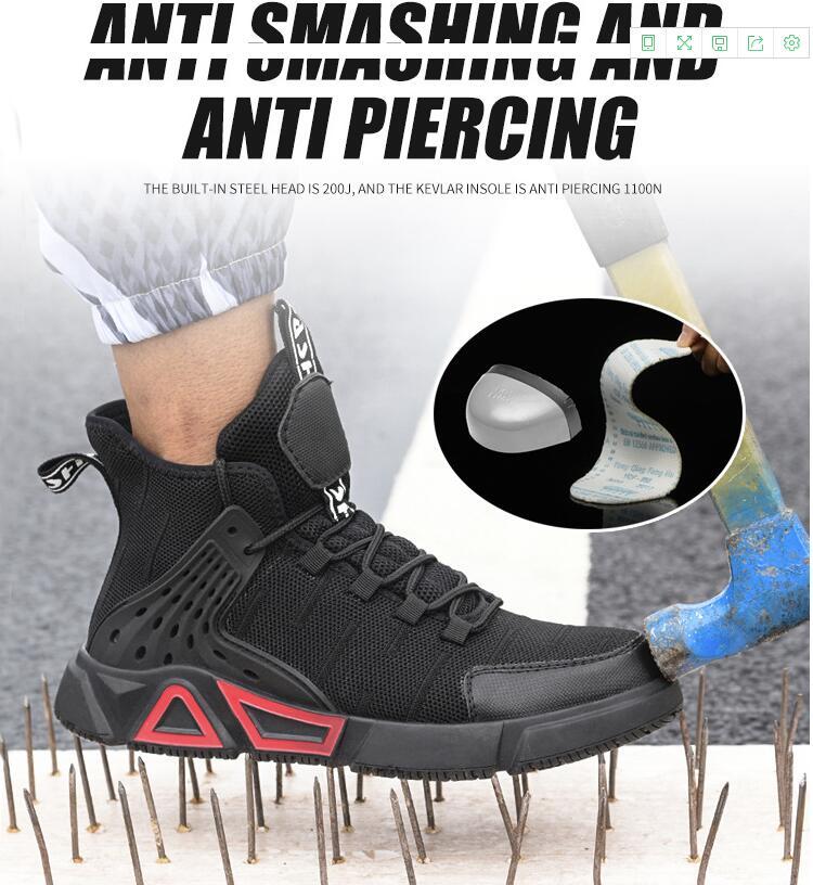 botas de aço toe sapatos de trabalho