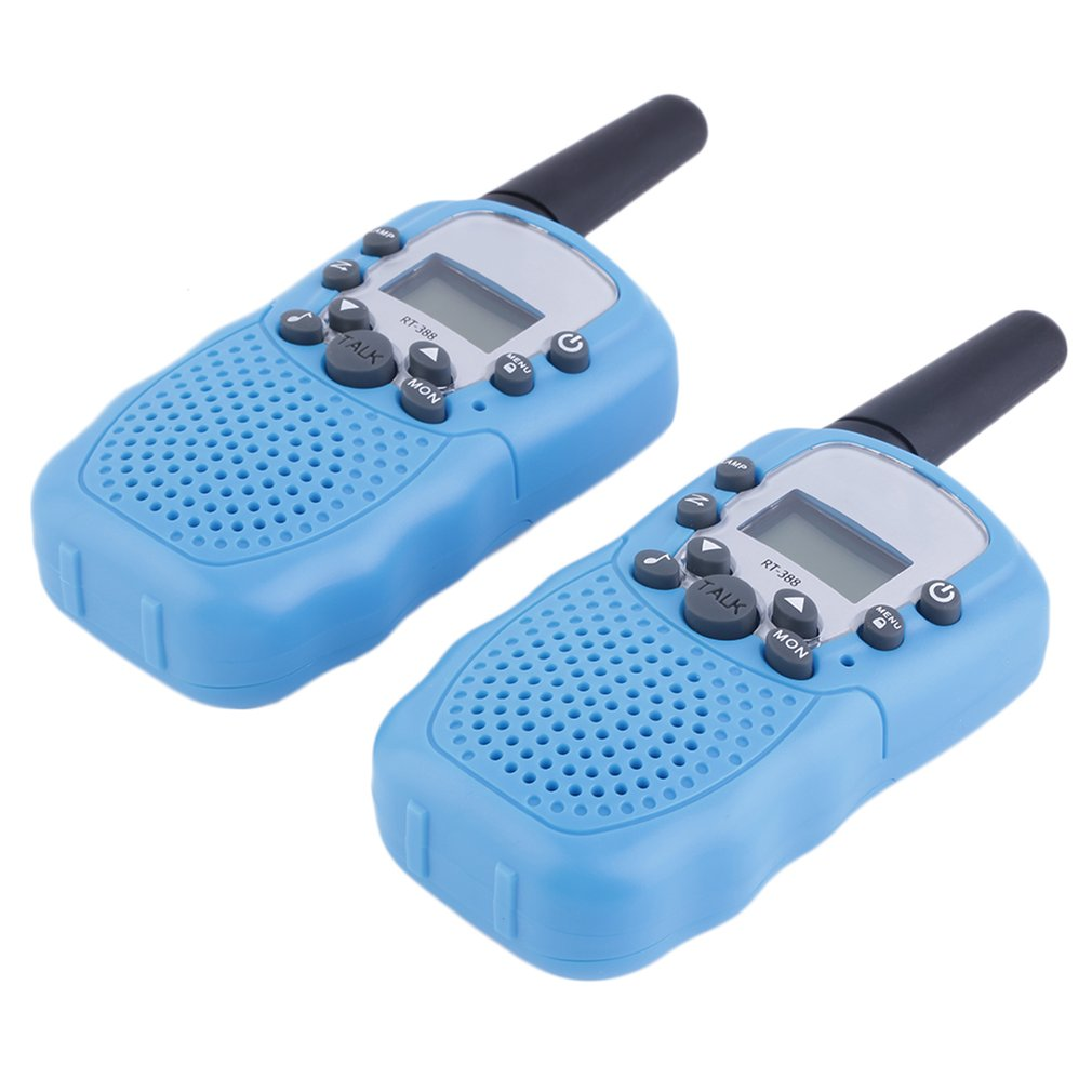 Hot! 2x RT-388 Walkie Talkie 0.5W 22CH Two Way Radio For Kids Children Gift New Sale
