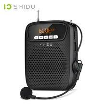 Shidu 15 Вт Портативный голосовой усилитель проводной микрофон