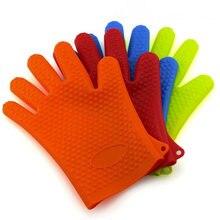 2 шт жаропрочные силиконовые перчатки приготовления выпечки