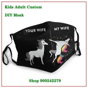 Моющаяся многоразовая маска для лица для вашей жены, многоразовая детская моющаяся многоразовая маска для лица, Новое поступление, винтажн...