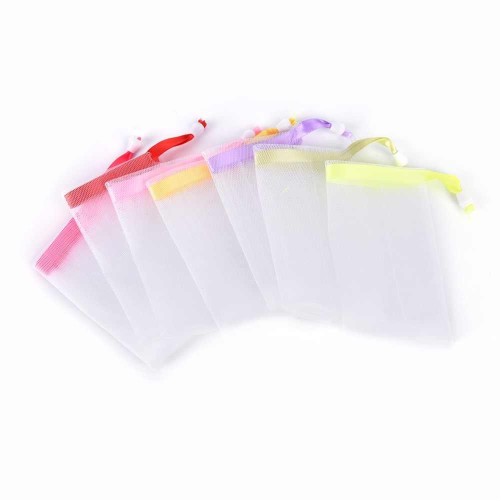 5 pçs lavar rosto toalha de viagem esponja banho pano de malha chuveiro banho banho esfoliação toalha de banho corpo espuma sabão líquido fazer toalha limpa