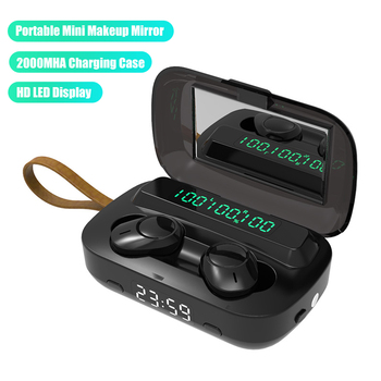 Wireless Earphones TWS Bluetooth Headphones 9D Stereo Noise Cancel Headsets Touch Control Earbuds wi