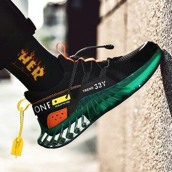 Zapatos Deportivos transpirables para Hombre, Zapatillas De verano, informales