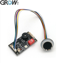 Büyümek K200 3.3 + R502 A dairesel halka göstergesi ışık kapasitif parmak izi erişim kontrol panosu