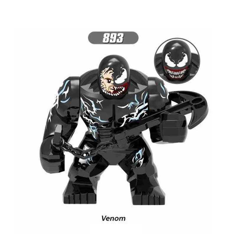 Disney aksiyon figürleri Avengers Hulk Thor kaptan demir adam siyah dul Compatibie Lepining yapı taşları oyuncak seti DIY hediyeler