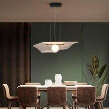 Nordic Led Hanglamp Minimalistische Zwart Glans Acryl Plafond Opknoping Licht Voor Eetkamer Slaapkamer Indoor Decoratie Armaturen