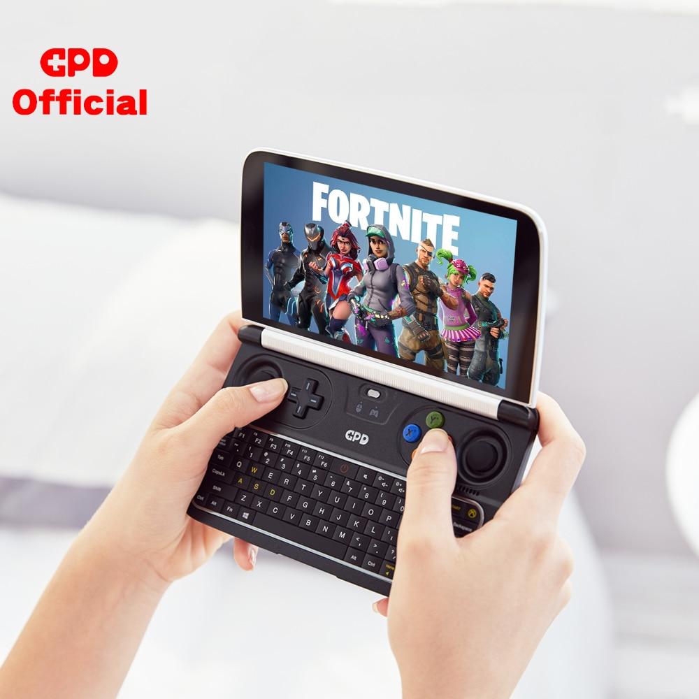 Новая Оригинальная последней модели GPD WIN 2 WIN2 256 ГБ Интер m3 8100y 6 дюймовая Мини Игровой ПК ноутбук с системой Windows 10 ноутбук с бесплатными подарками