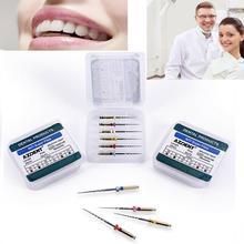 Зубные Эндо корневые файлы корневой канал универсальный двигатель использовать роторные файлы эндонтический корневой канал NITI стоматологический инструмент