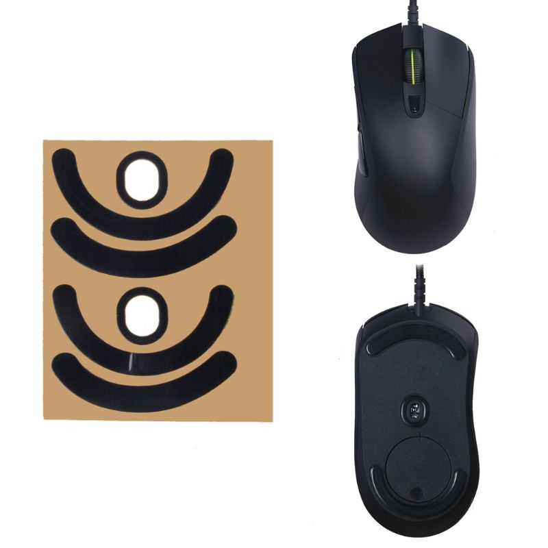 2 Sets/Pack Original Hotline Games Competition Level Mouse Feet Mouse Skates Gildes For Logitech G403 G603 G703 Mouse 0.6mm Thic