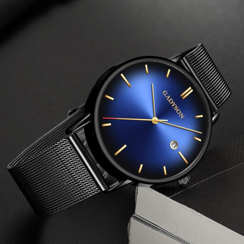 Hot Sale 2019 Men Watch Women Calendar Famous Wrist Watch Unique Male Clock Mens Fashion Quartz Wristwatches Luxury  And Simple