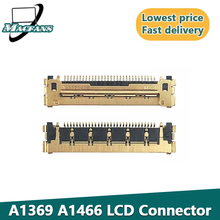 Абсолютно Новый A1369 A1466 ЖК-дисплей светодиодный кабель низковольтной дифференциальной передачи сигналов разъем для MacBook Air A1370 A1465 A1466 ЖК-дисп...
