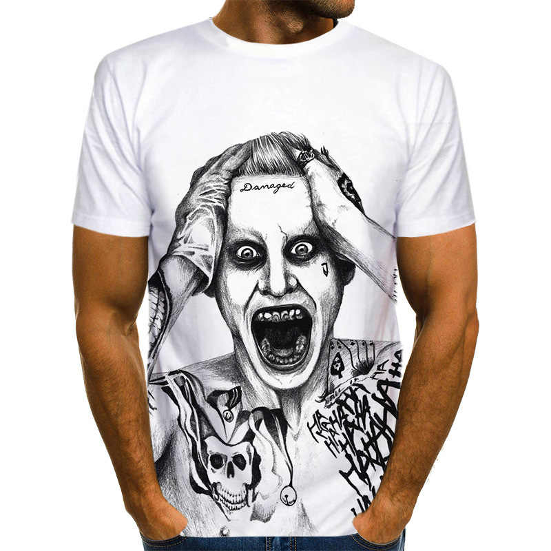 Off White Waarom Zo Ernstig T-shirt Mannen Funny Magic Colwn 3D T-shirt Print T-shirt Unisex Casual T-shirts Harajuku Korte mouw Tops