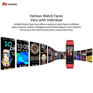 "Image 4 - HUAWEI Band 4 Pro 0.95"" Full AMOLED Touchscreen Smart Band Heart Rate Health Monitor GPS Sports Fitness Bracelet Women Men"