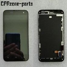 """4.3 """"oryginalny LCD z ramką dla Xiao mi mi 2 mi 2S mi 2 wyświetlacz LCD z ekranem dotykowym montaż czujnika digitizera darmowa wysyłka"""