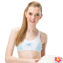 цена Funklouz Young Girls Cotton Bra Teen Student Sports Training Bra Teenage Girl Underwear онлайн в 2017 году