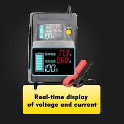 12 V/24 V Full Automatic Car Battery Charger Power Pulse Repair Chargers Wet Dry Lead Acid Battery-chargers Digital LCD Display