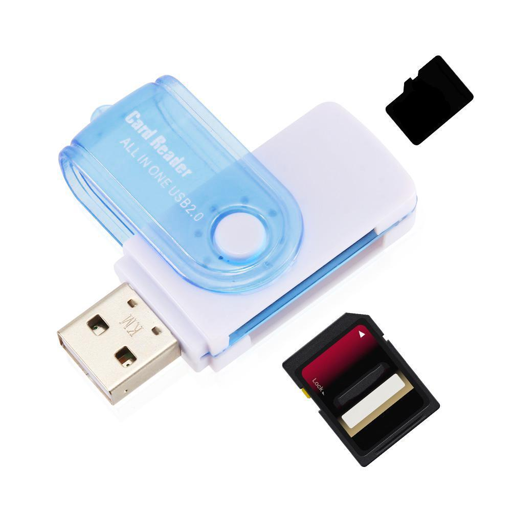 All In One Micro SD To USB Multi-Card Memory Card Adapter Reader Supports 128GB Multi-function Cardreader Connector