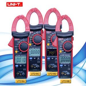 UNI-T UT216 serie 600A True RMS Digital Clamp Meter Auto Range Multimeter AC Spannung Strom Zange Tester