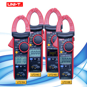 UNI-T UT216 series 600A True RMS Digital Clamp Meters Auto Range Multimeters AC Voltage Current Tongs Testers(China)