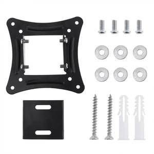Image 5 - TV Wall Mount Bracket Fixed Flat Panel TV Frame Support 15 Degrees Tilt Angle for 14 26 Inch LCD LED Monitor Flat Panel