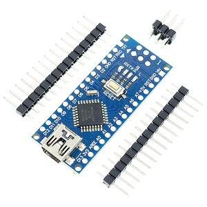 Image 3 - ¡Envío gratis! Controlador Nano V3 3,0, compatible con nano CH340, USB sin CABLE nano v3.0, 50 uds.