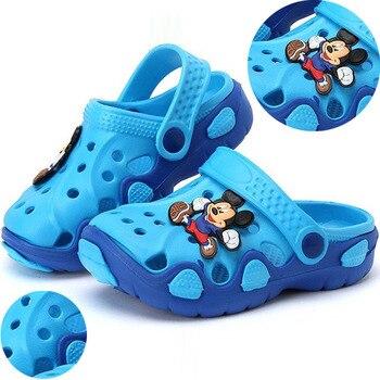 Kids Slippers for Boys Girls Cartoon Shoes 2019 Summer Toddler Flip Flops Baby Indoor Slippers Beach Swimming Slippers