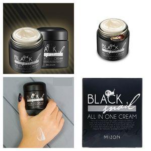 Image 5 - MIZON Crema de Caracol negra todo en uno, 75ml, crema de Caracol negra hidratante antiarrugas, cuidado de cara blanqueador, Cosméticos Coreanos
