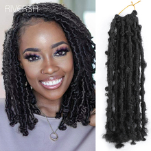 Butterfly Hair Pre-Twisted Dreadlocks-Hair Braiding Curly Afro Synthetic 12--Inch Wholesale-Price