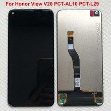 חדש נבדק מקורי עבור Huawei Honor V20 PCT AL10 PCT L29/לכבוד צפה 20/nova 4 LCD תצוגה + מגע מסך Digitizer עצרת