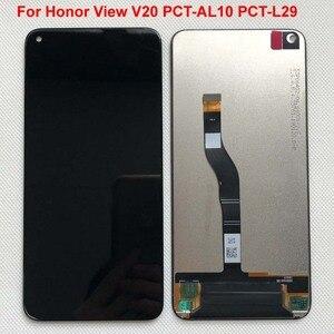 Image 1 - Neue Getestet Original Für Huawei Honor V20 PCT AL10 PCT L29/Für Honor Ansicht 20/nova 4 LCD DIsplay + Touch screen Digitizer Montage