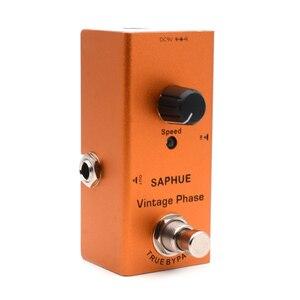 Image 5 - SAPHUE pedał gitary elektrycznej Vintage Overdrive/Distortion Crunch/Distortion/US Dream/Classic Chorus/Vintage Phase/cyfrowy Delay