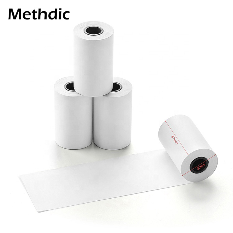 Methdic BPA Free 57*30mm 10 Rolls Thermal Paper Rolls