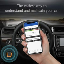 OBD2 Scanner Bluetooth 4.0 Professional Car Code Reader Compatible With Android And Ios car accessories xtool iobd2 mfi bt obd2 eobd2 scanner for ios and android wifi auto code reader high quality mutilanguage 100% original