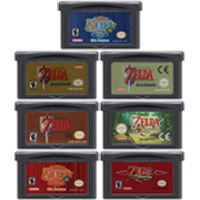 32 Bit Video Game Cartridge Console Card for Nintendo GBA The Legend of Zeld Series The Minish Cap Oracle of Ages Seasons(China)
