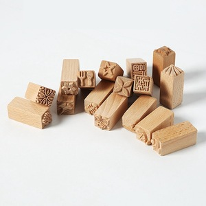 Hand Carved Wooden Stamps For