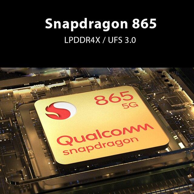 Global Version Black Shark 3 5G Snapdragon 865 8GB 128GB Game Phone Octa Core 64MP Triple AI Cameras 65W 4720mAh 4