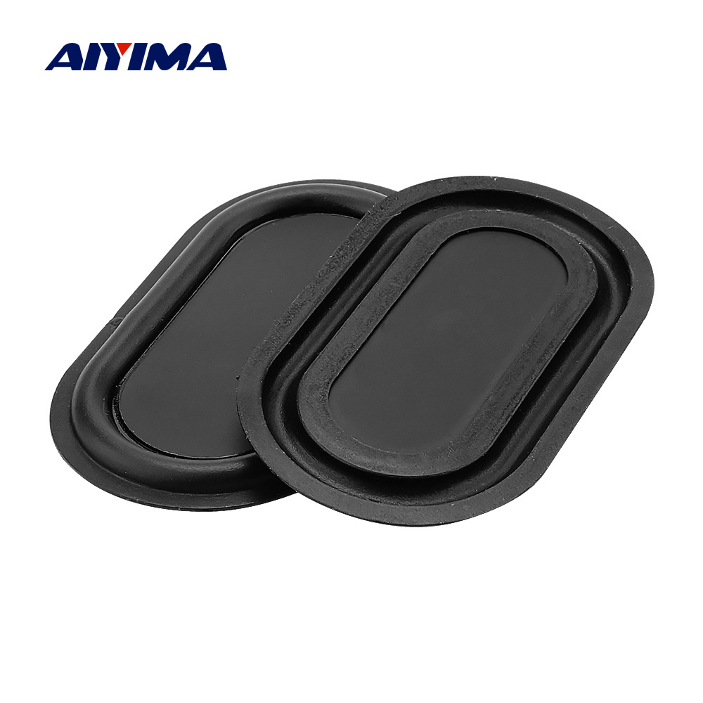 AIYIMA 2Pcs Passive Bass Diaphragm Vibrating Plate Woofer Passive Radiator Vibration Membrane 70*40MM Speaker Accessories