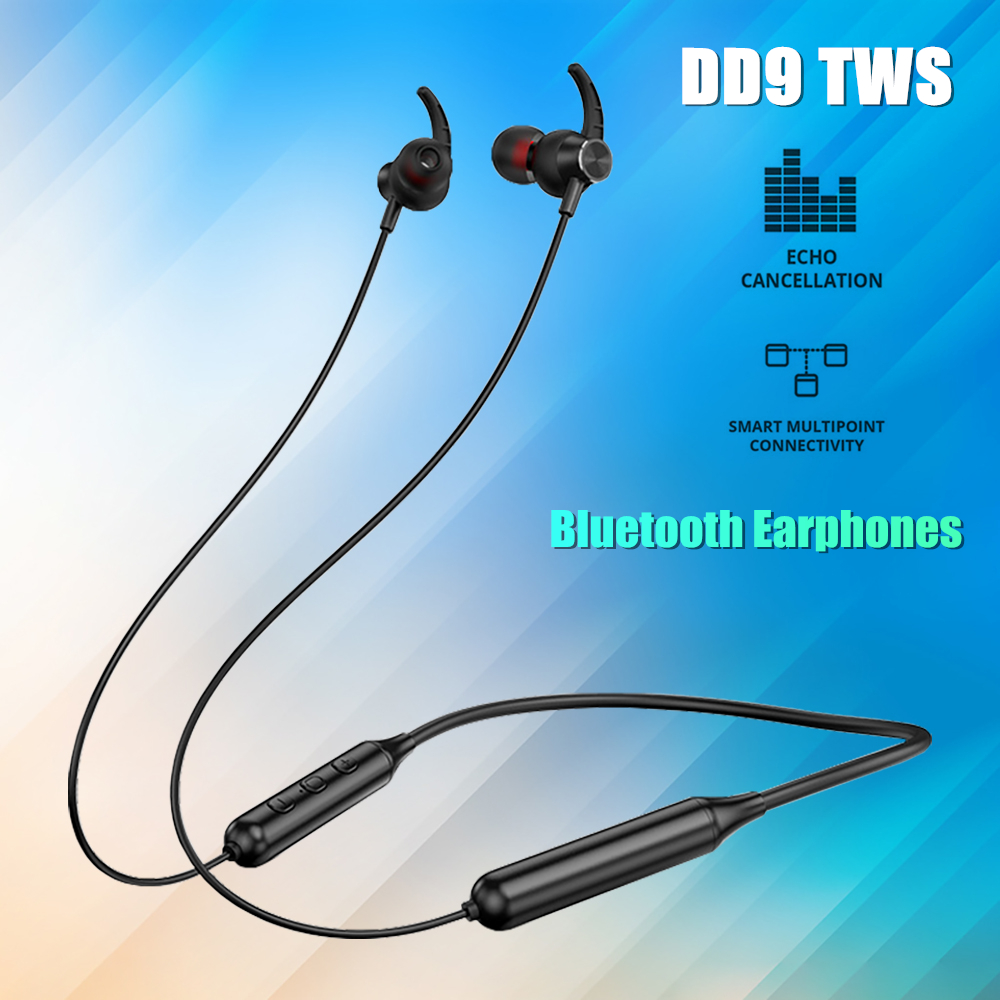 DD9 TWS Bluetooth Earphones sports Wireless Headphones For Xiaomi Samsung Android IOS 3D Stereo Sound Headset Binaural Earbuds