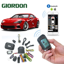 Remote-Controller Car-Alarm Car-Engine PKE Push Two-Way LCD for App-Phone